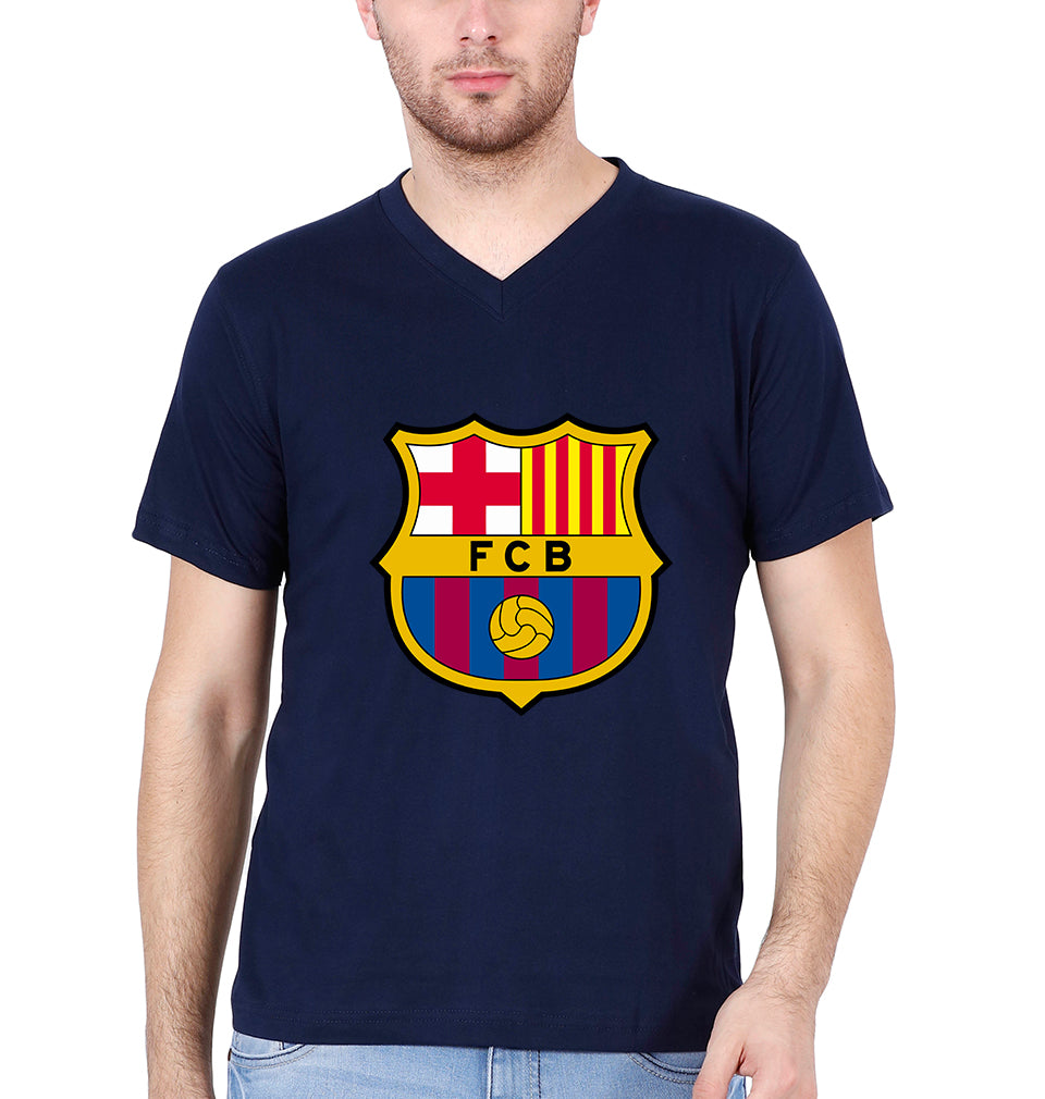 Barcelona V Neck T-Shirt for Men