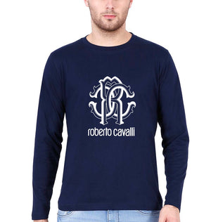 Roberto Cavalli Full Sleeves T-Shirt for Men