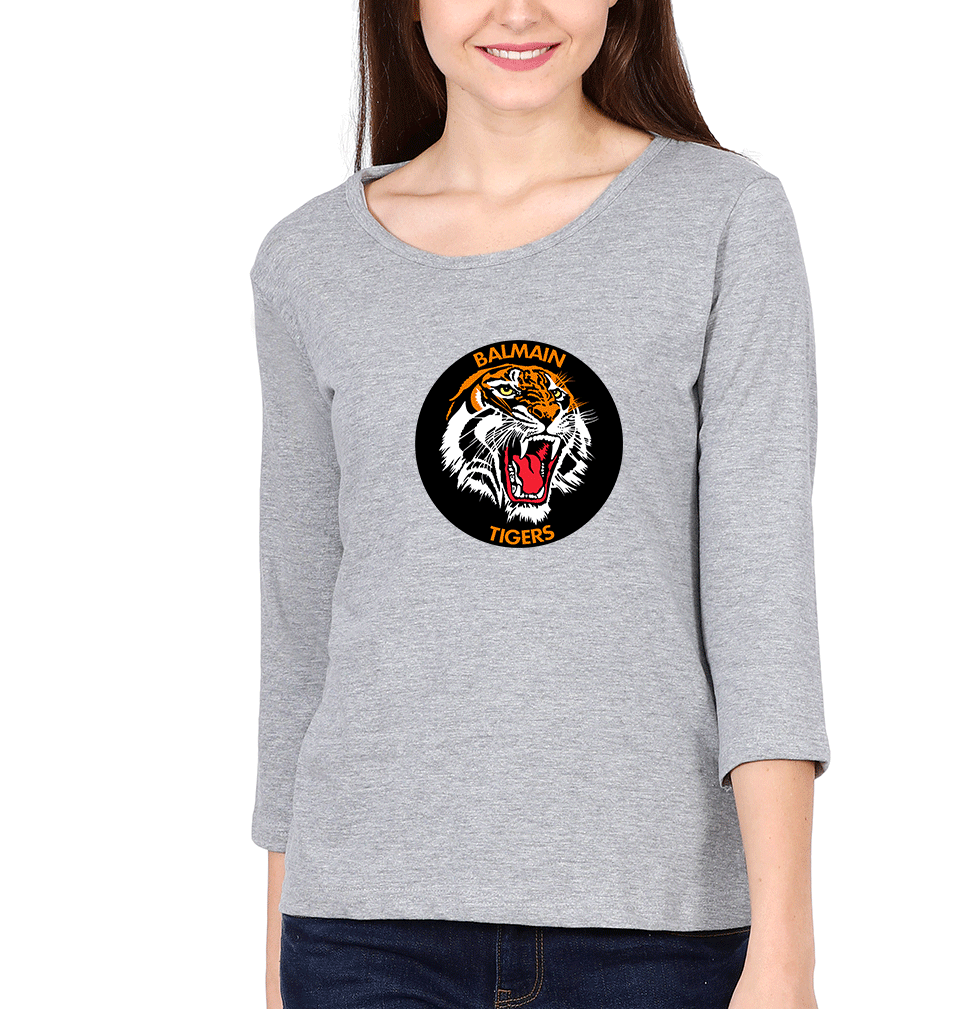 Balmain Tigers Full Sleeves T-Shirt for Women