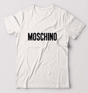 Moschino T-Shirt For Men-M(40 Inches)-White-ektarfa.com