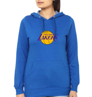 Los Angeles Lakers Hoodie for Women-S(40 Inches)-Royal Blue-ektarfa.com