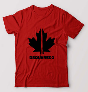 DSQUARED2 T-Shirt for Men-S(38 Inches)-Red-ektarfa.com