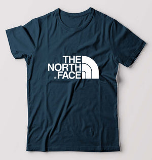 The North Face T-Shirt For Men-S(38 Inches)-Petrol Blue-ektarfa.com