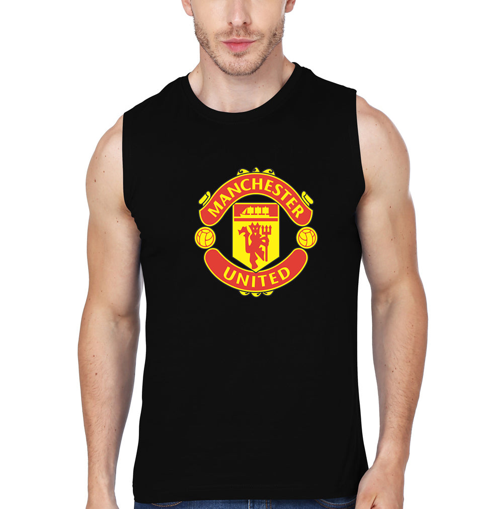 Manchester_United Sleeveless T-Shirt for Men
