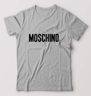 Moschino T-Shirt For Men-M(40 Inches)-Grey-ektarfa.com