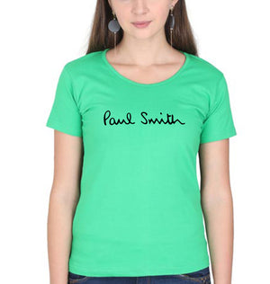 Paul Smith T-Shirt for Women-XS(32 Inches)-Flag Green-ektarfa.com