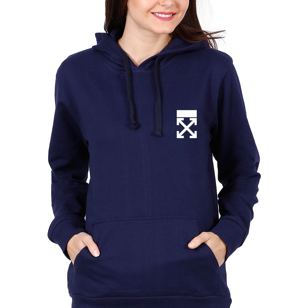 off White logo Hoodie for Women