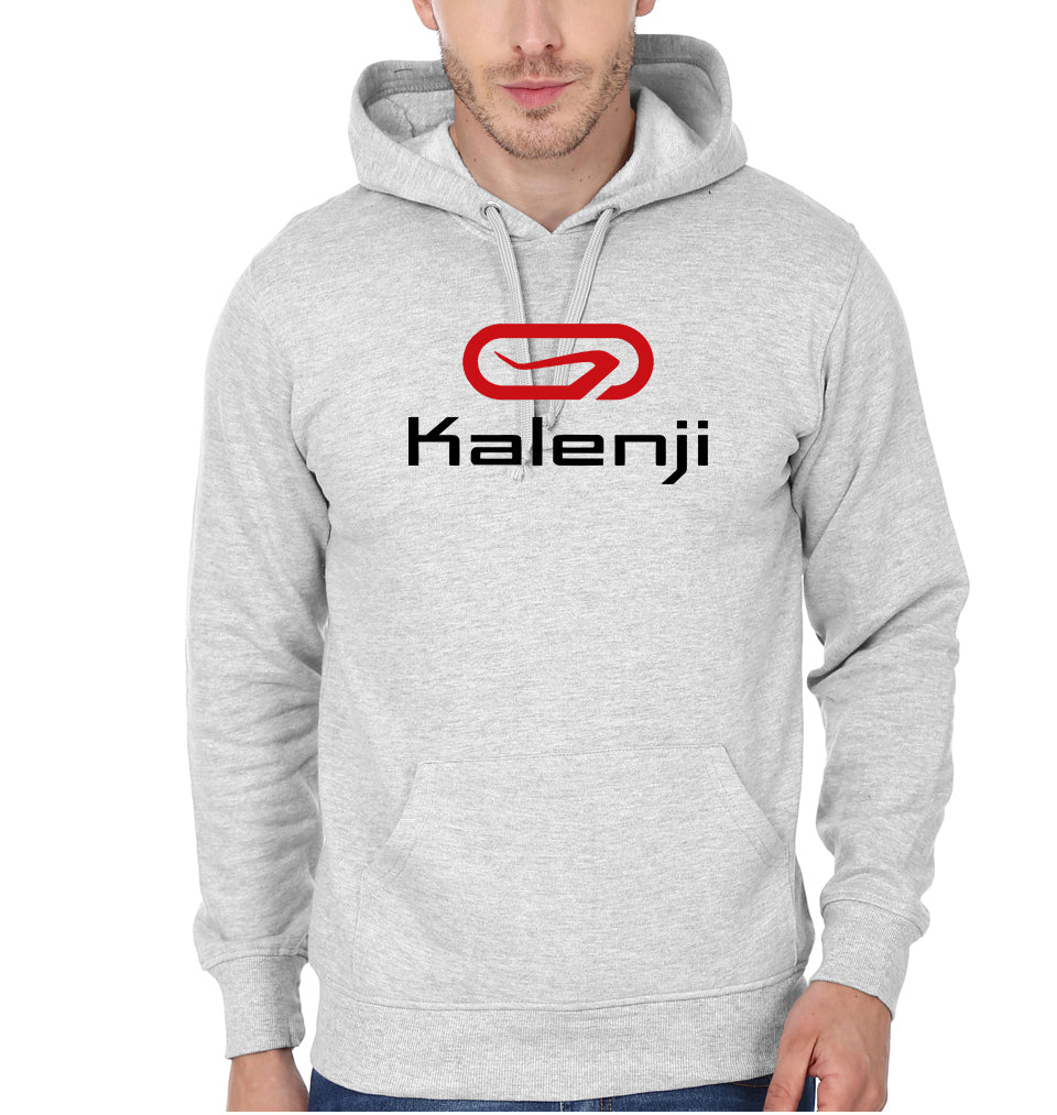 Kalenji Hoodie for Men-S(40 Inches)-Grey Melange-ektarfa.com