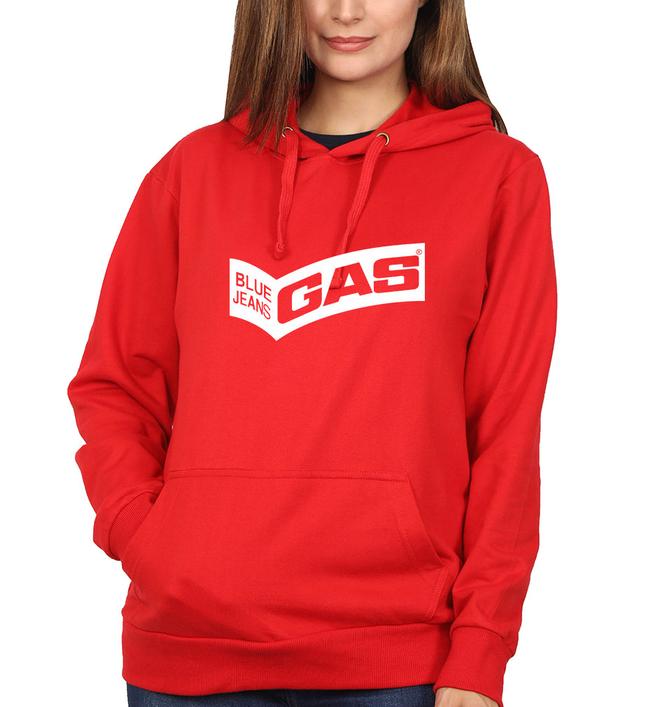 Gas Hoodie for Women-S(40 Inches)-Red-ektarfa.com