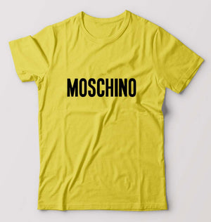 Moschino T-Shirt For Men-M(40 Inches)-yellow-ektarfa.com