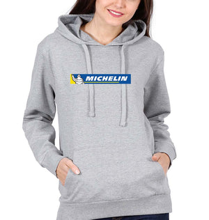 Michelin Hoodie for Women-S(40 Inches)-Gray-ektarfa.com