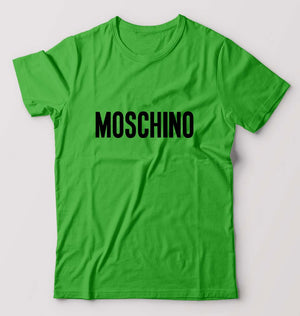 Moschino T-Shirt For Men-M(40 Inches)-Flag green-ektarfa.com
