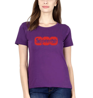 Supreme x LV  T-Shirt for Women