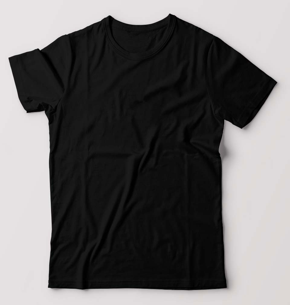 Plain Black T-Shirt for Men