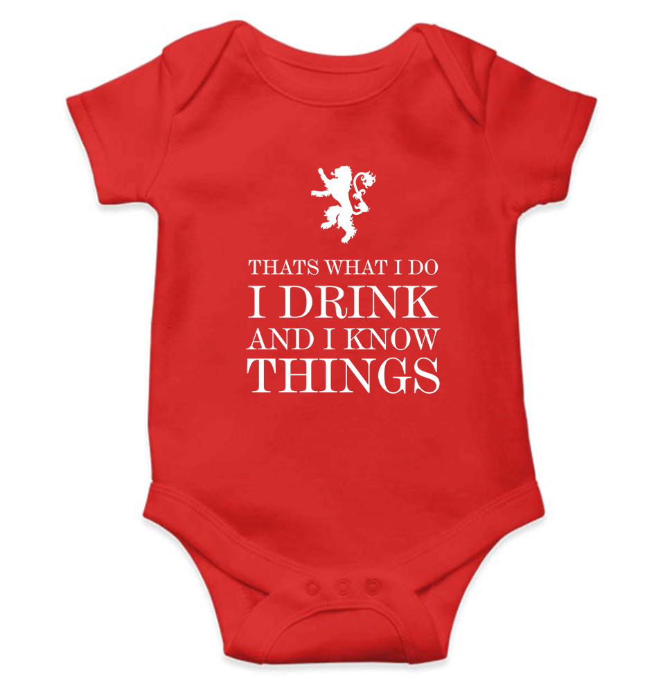 GOT Game Of Thrones Logo Romper For Baby Boy