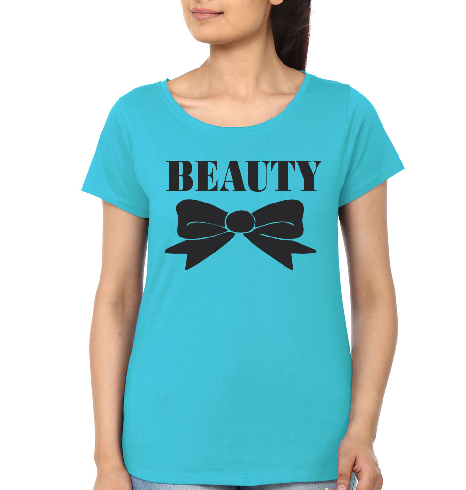 Beast & Beauty - ektarfa.com @ Buy Best T-shirts Online in India - 3