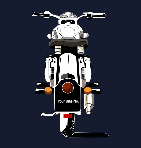 Bullet With Your Number - ektarfa.com @ Buy Best T-shirts Online in India - 1