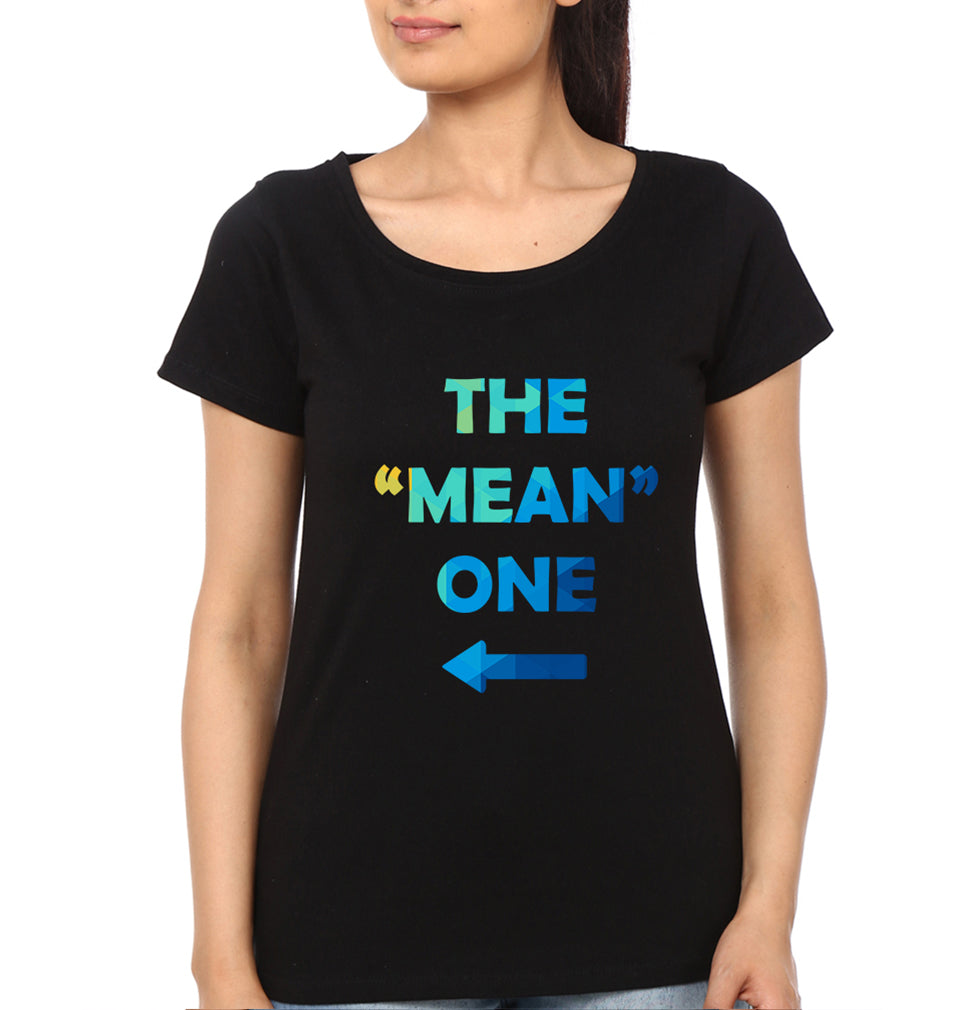 Nice Mean Half Sleeves T-Shirt for Women