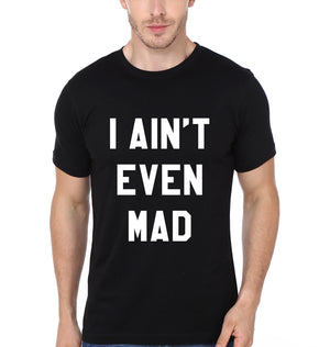 MAD T-Shirt for Men-XL(44 Inches)-Black-ektarfa.com