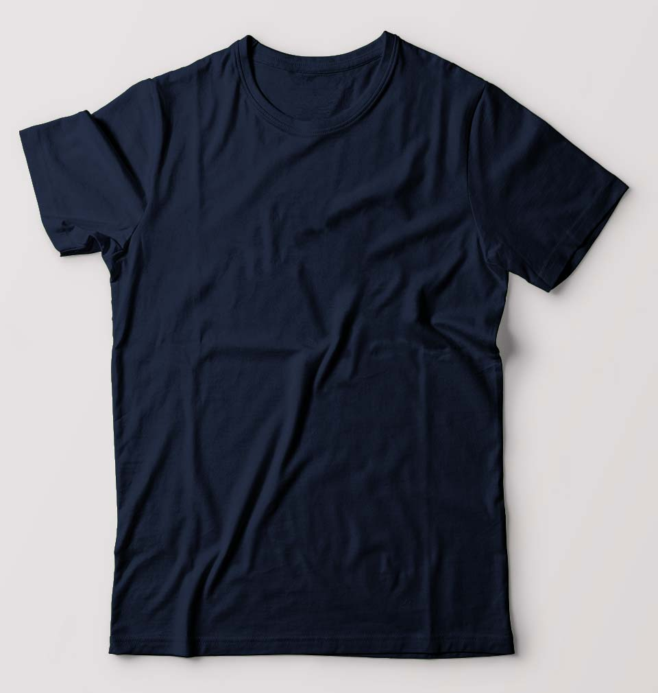 Plain Navy Blue T-Shirt for Men