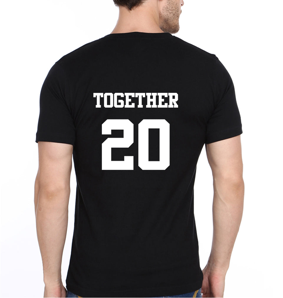 Together Since 09 - ektarfa.com @ Buy Best T-shirts Online in India - 3