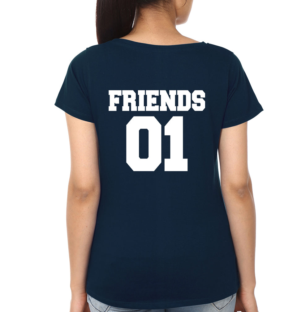 Best Friends - ektarfa.com @ Buy Best T-shirts Online in India - 3