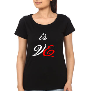 This Is Love Half Sleeves T-Shirt for Women