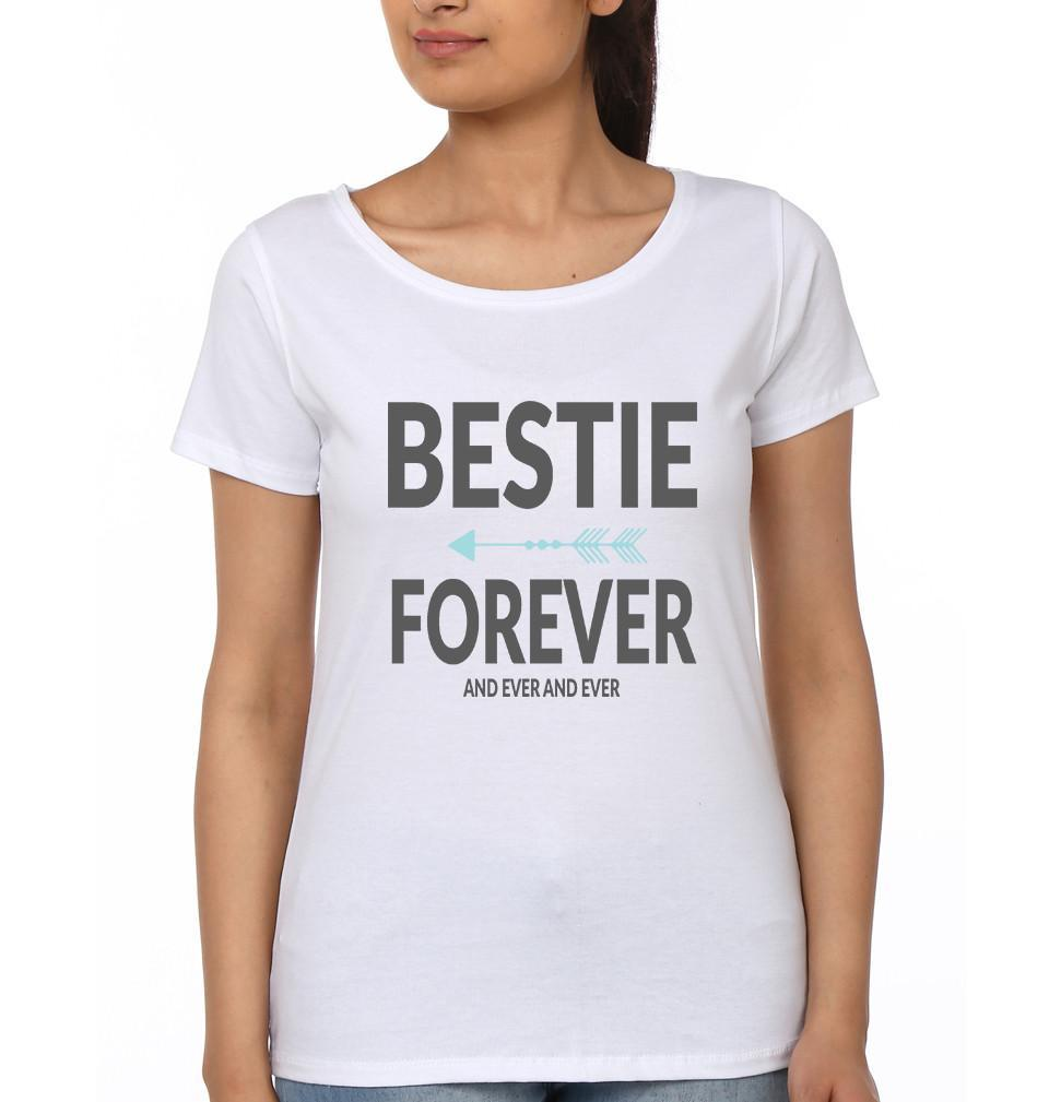 ektarfa.com BFF T-Shirts Bestie Forever and ever BFF T-Shirts
