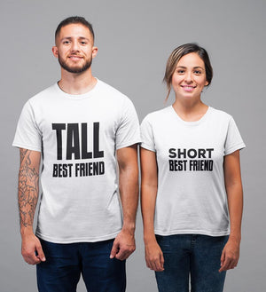 ektarfa.com BFF T-Shirts Tall Short BFF T-Shirts