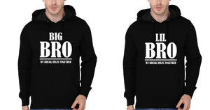 ektarfa.com Brother Brother T-Shirts Big Bro & Lil Bro We Break Rules Together Brother Brother Hoodies