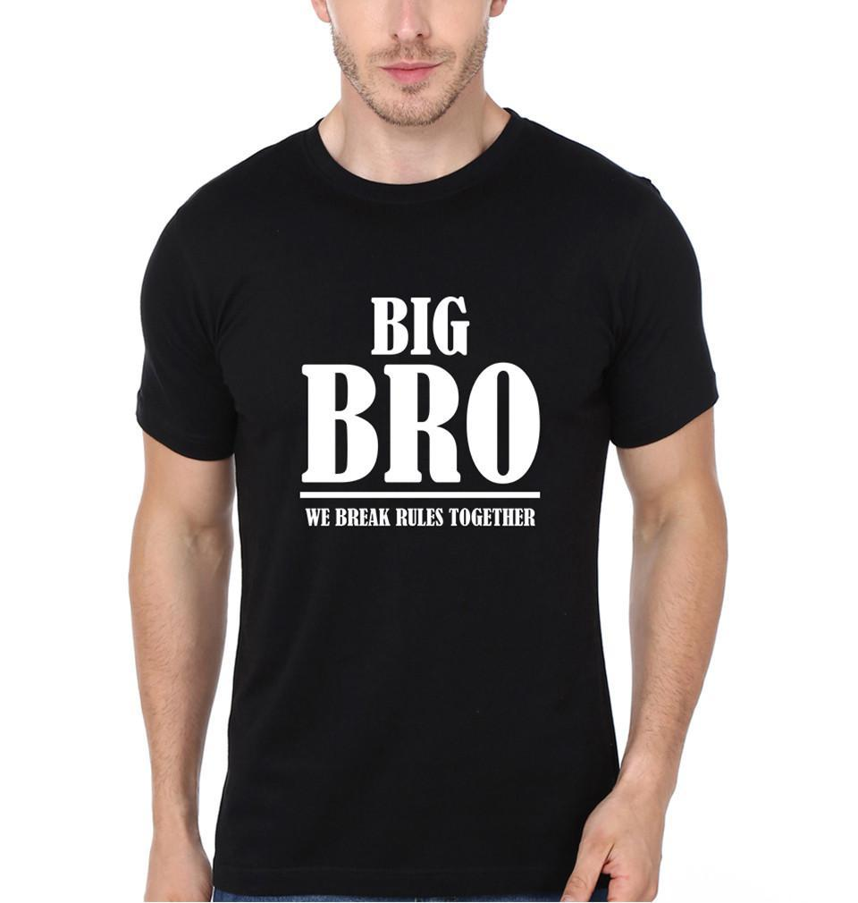 ektarfa.com Brother Brother T-Shirts Big Bro & Lil Bro We Break Rules Together Brother Brother Tshirt