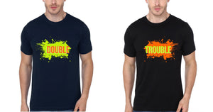 ektarfa.com Brother Brother T-Shirts DOUBLE TROUBLE