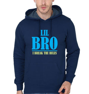 ektarfa.com Brother Sister T-Shirts Big Sis Make The Rules Lil Bro Break The Rules Brother Sister Hoodie
