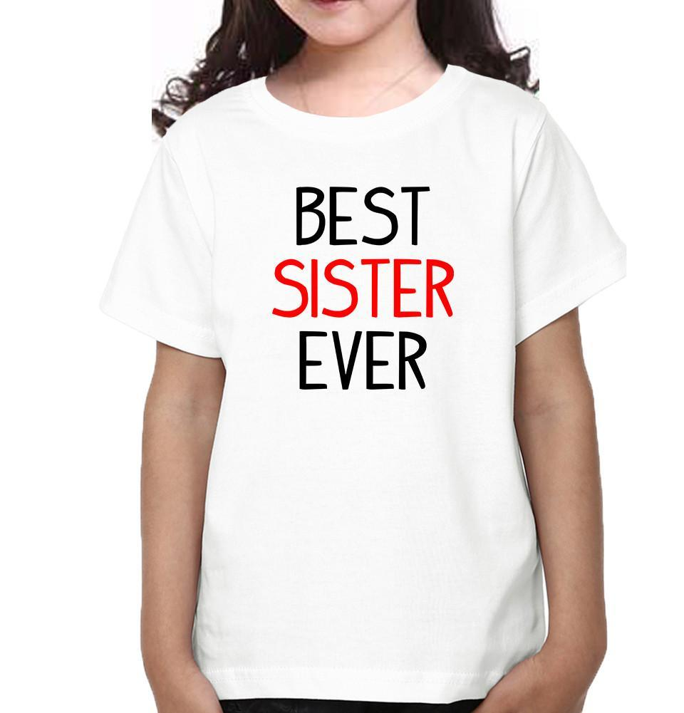 ektarfa.com @ Buy Best T-shirts Online in India Brother Sister T-Shirts Best Brother Ever Best Sister Ever