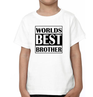 ektarfa.com @ Buy Best T-shirts Online in India Brother Sister T-Shirts World's Best Sister World's Best Brother
