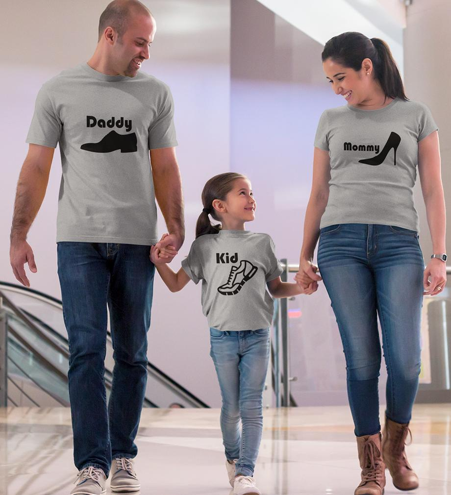 ektarfa.com @ Buy Best T-shirts Online in India Family T-Shirts Daddy Mommy Kid Family T-Shirts