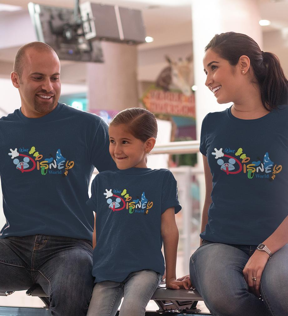 ektarfa.com @ Buy Best T-shirts Online in India Family T-Shirts Disney World Family T-Shirts