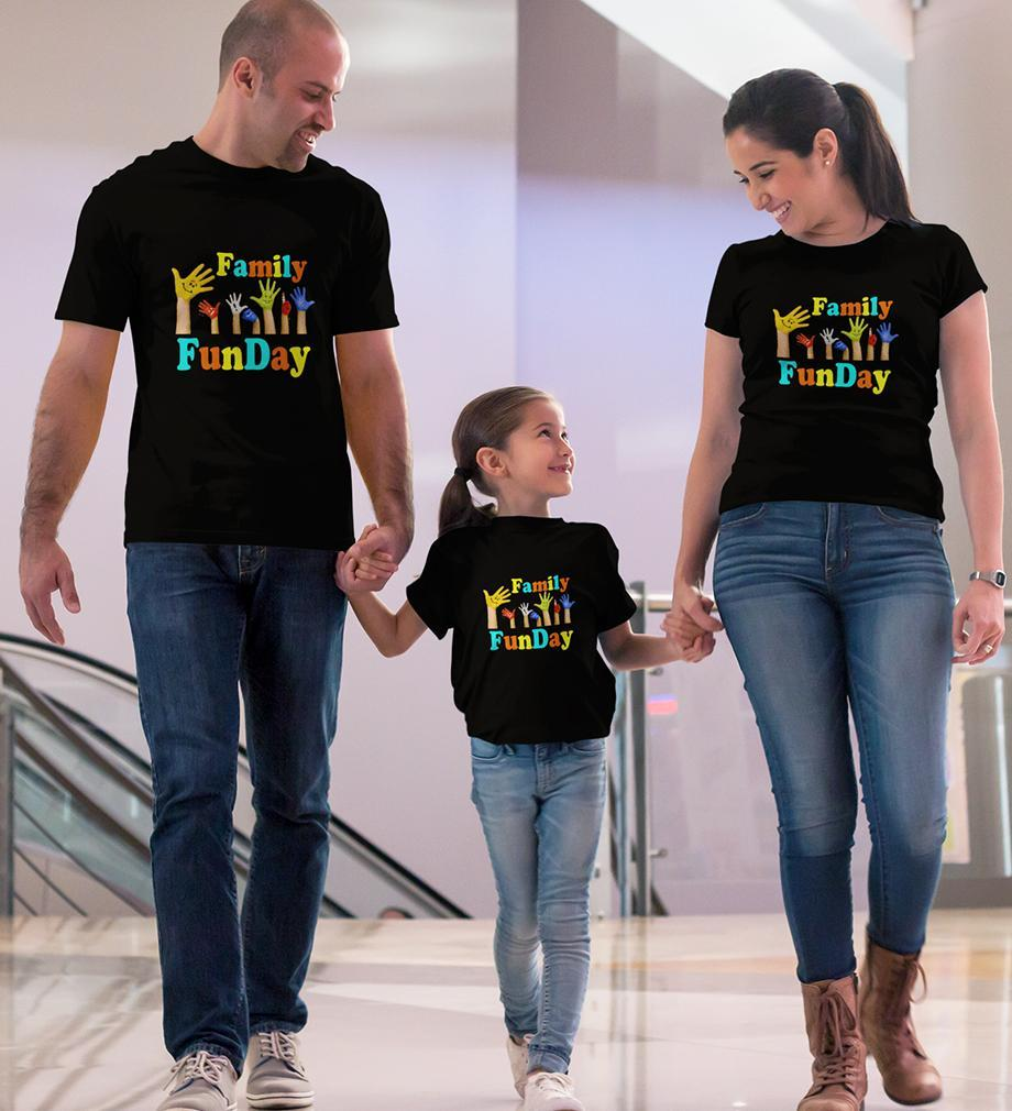 ektarfa.com @ Buy Best T-shirts Online in India Family T-Shirts Family Funday Family T-Shirts