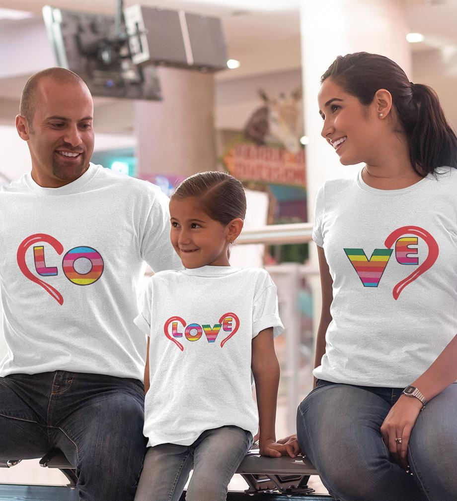 ektarfa.com @ Buy Best T-shirts Online in India Family T-Shirts Love Family T-Shirts