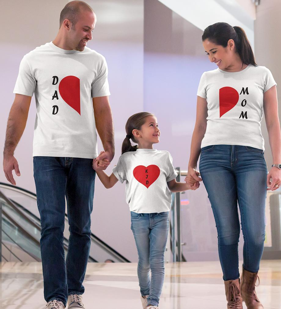 ektarfa.com @ Buy Best T-shirts Online in India Family T-Shirts Mom Dad Kid Family T-Shirts