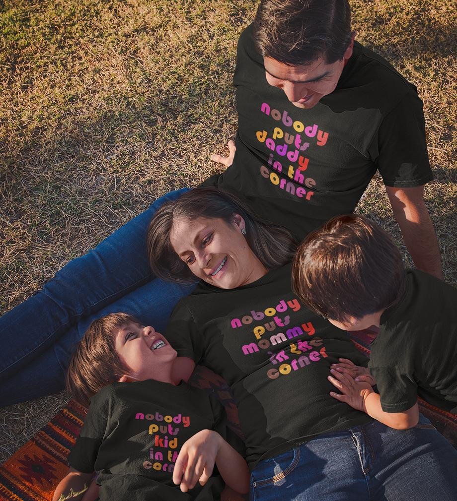 ektarfa.com @ Buy Best T-shirts Online in India Family T-Shirts Nobody Puts Family T-Shirts