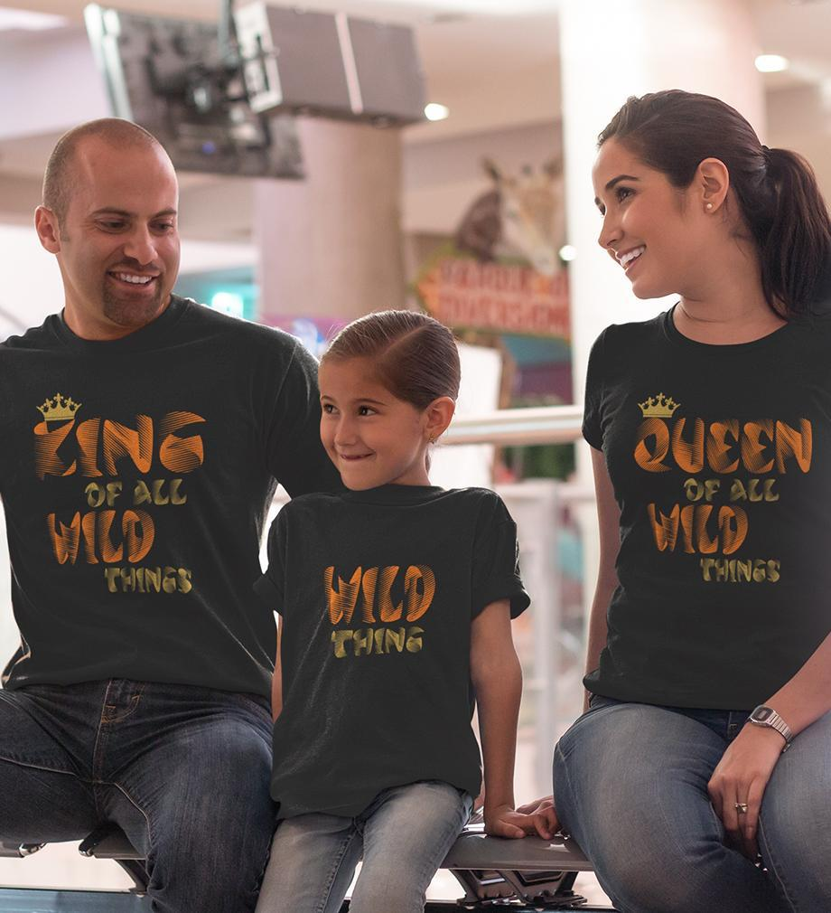 ektarfa.com @ Buy Best T-shirts Online in India Family T-Shirts Wild Things Family T-Shirts