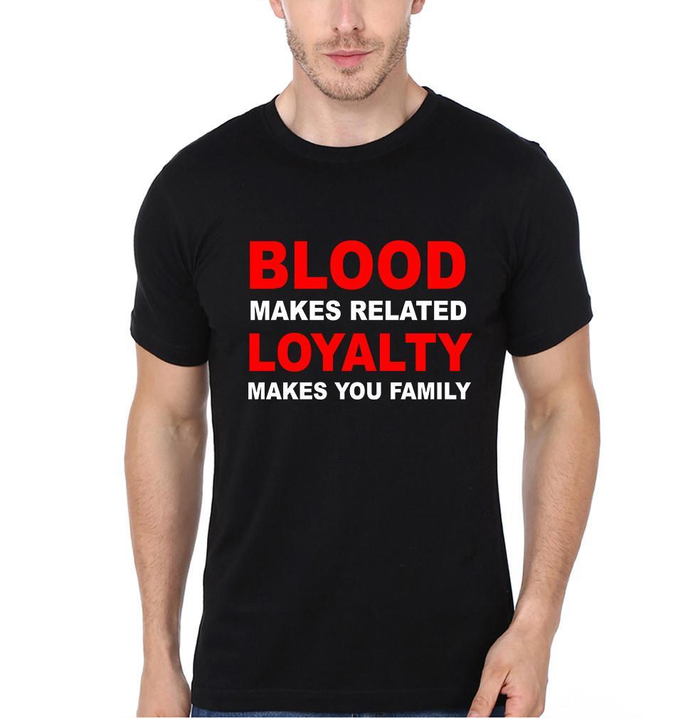 ektarfa.com @ Buy Best T-shirts Online in India Relation T-Shirts Blood Loyalty