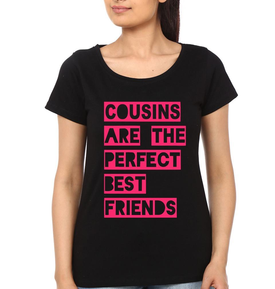 ektarfa.com @ Buy Best T-shirts Online in India Relation T-Shirts Cousins Are The Perfect Best friends