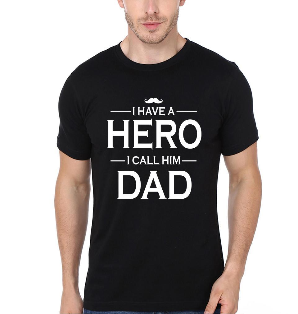 ektarfa.com @ Buy Best T-shirts Online in India Relation T-Shirts I Have A Hero I Call Him Dad
