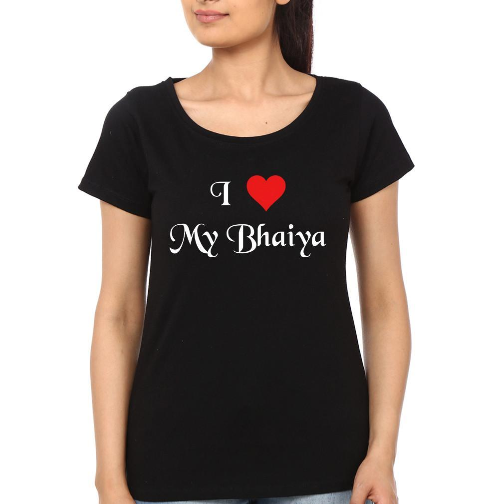 ektarfa.com @ Buy Best T-shirts Online in India Relation T-Shirts I Love My bhaiya