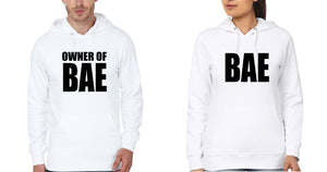 ektarfa.com Couple T-Shirts BAE & Owner of BAE Couple Hoodie - Set of 2 Pcs.