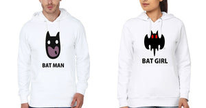 ektarfa.com Couple T-Shirts Batman batgirl - Set of 2 Pcs.