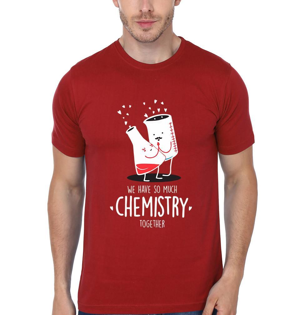 ektarfa.com Couple T-Shirts Chemistry Couple T-Shirt - Set of 2 Pcs.