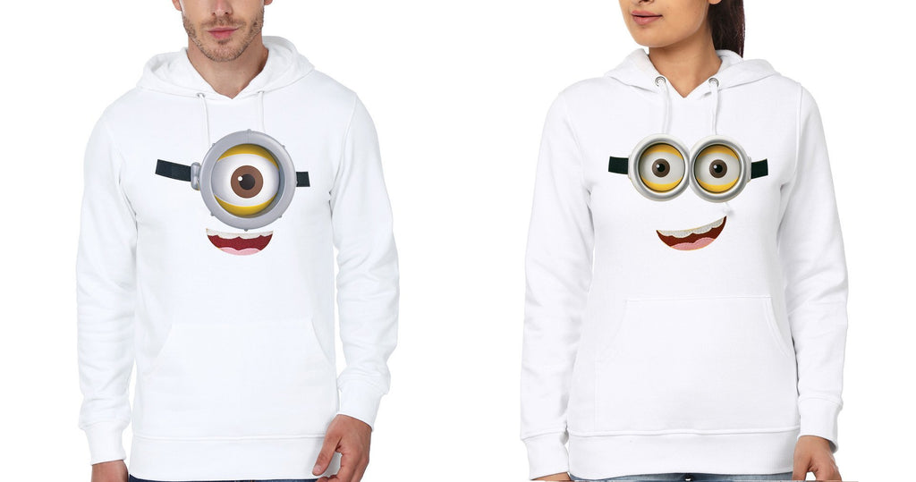 ektarfa.com Couple T-Shirts Minion Couple Hoodie - Set of 2 Pcs.
